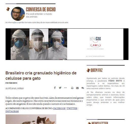 Na mídia: Cat Paper no Estadão