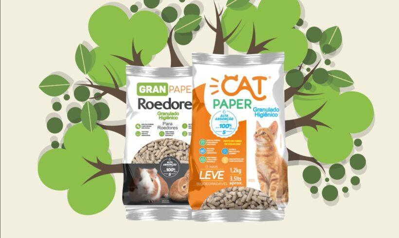 Pensando no meio ambiente, Cat Paper e Faro Ativo se unem para oferecer granulado higiênico 100% natural
